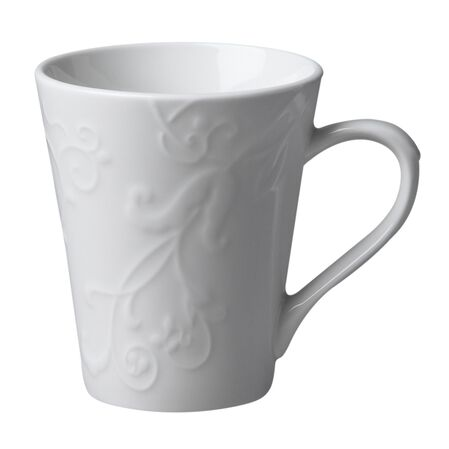 Embossed™ Bella Faenza 10-oz Porcelain Mug