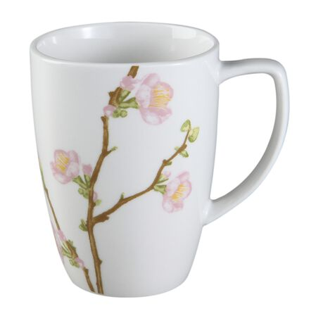 Square™ Cherry Blossom 12-oz Porcelain Mug