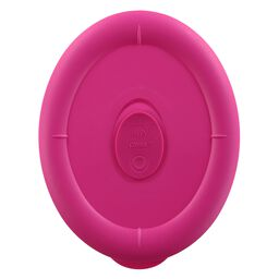 Pro 3.67 Cup Oval Plastic Lid, Berry