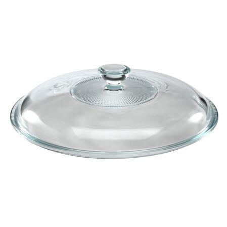 2-qt Glass Casserole Lid