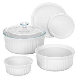 French White® 6-pc Bakeware Set