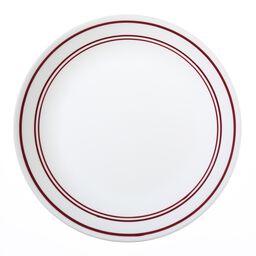 """Livingware™ Classic Café Red 10.25"""" Plate"""