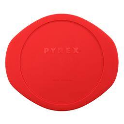 2-qt Round Plastic Lid, Red