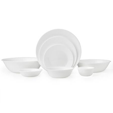 Livingware™ Winter Frost White 50-pc Dinnerware Set