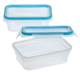 Total Solution™ Plastic Food Storage 2 Pack, Rectangle