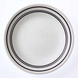 """Livingware™ Classic Café Black 6.75"""" Plate"""