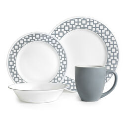 Impressions™ Urban Grid 16-pc Dinnerware Set
