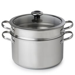Copper Confidence Core™ 6.5-qt Stainless Steel Stock Pot w/ Lid & Pasta Insert
