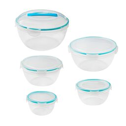 Airtight Food Storage 10-pc Round Set