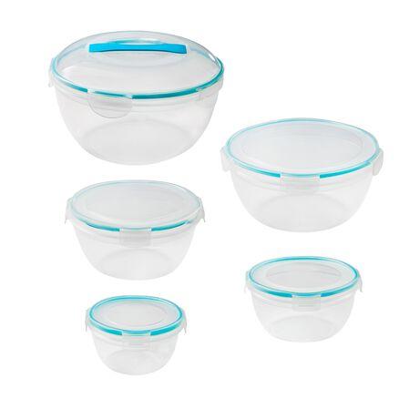 Airtight Food Storage 10-pc Round Set