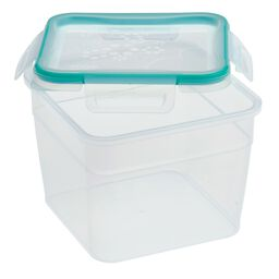 Total Solution™ Plastic Food Storage with Lid 10.34 Cup, Square
