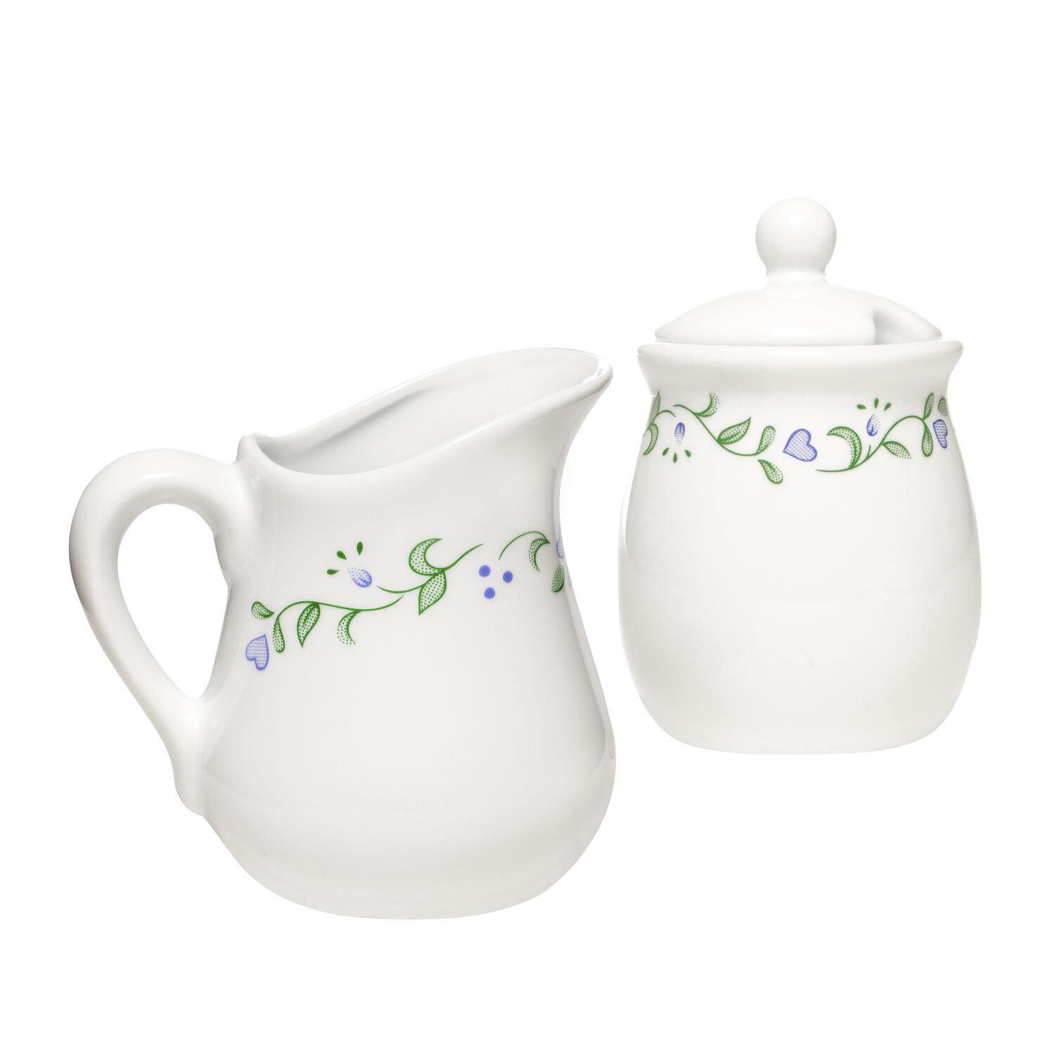 corelle® coordinates® country cottage sugar  creamer set  shop  - coordinates® country cottage sugar  creamer set loading zoom