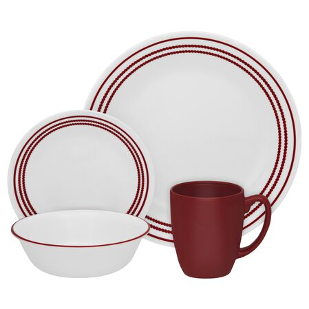 Livingware™ Ruby Red 16-pc Dinnerware Set