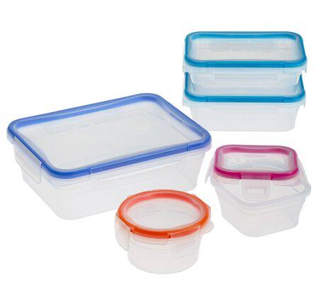 Total Solution™ Plastic Food Storage 10-pc Set