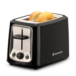 2 Slice Cool Touch Toaster w/ Stainless Steel Accents