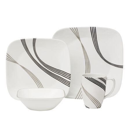 "Boutiqueâ""¢ Urban Arc 16-pc Dinnerware Set"