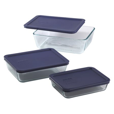 Simply Store® 6-pc Rectangular Set