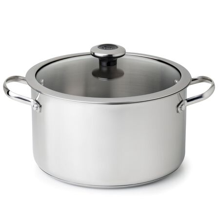 Copper Confidence Core™ 6.5-qt Stainless Steel Stock Pot w/ Lid