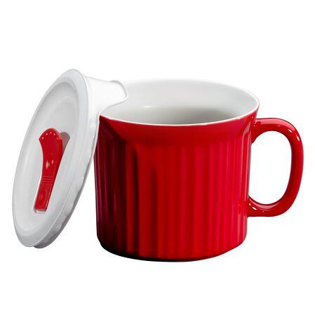 Colours® Pop-Ins® Tomato 20-oz Mug w/ Vented Lid