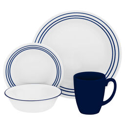 Livingware™ Jett Blue 16-pc Dinnerware Set