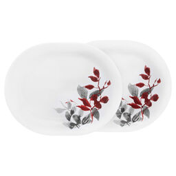 "Boutique™ Kyoto Leaves 12.25"" Platter, 2-pack"