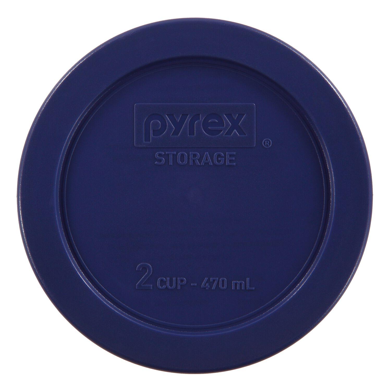 Pyrex® 2 Cup Round Blue Plastic Lid - Shop World Kitchen