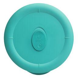 Pro 1.25-qt Round Plastic Lid, Turquoise