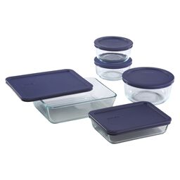 Simply Store® 10-pc Set w/ Blue Lids