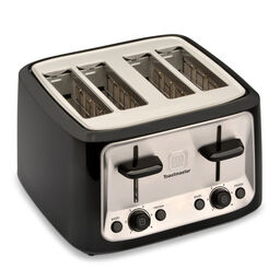 4 Slice Cool Touch Toaster w/ Stainless Steel Accents