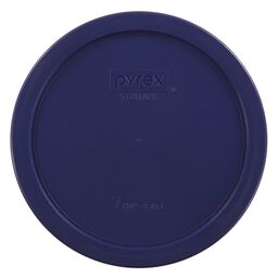 6 & 7 Cup Round Plastic Lid, Blue