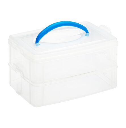 "Snap 'N Stack® 2 Layer 6"" x 9"" Storage Container"