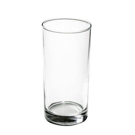 Coordinates® Winter Frost White 16-oz Glass