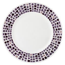 "Boutique™ Precious Colors 10.75"" Plate, Amethyst"