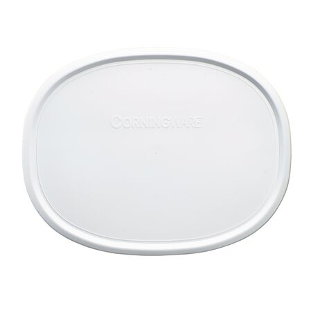 French White® 1.5-qt Oval Plastic Lid