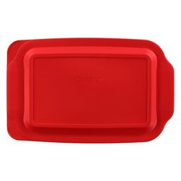 Plastic Lid for a Pyrex 3-qt Oblong, 233 Red