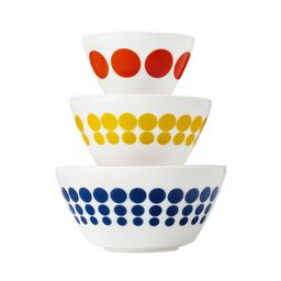 Vintage Charm Spot On 3-pc Mixing Bowl Set, inspired by Pyrex®