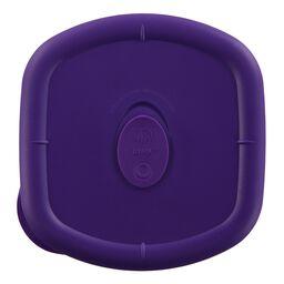 Pro 4.5 Cup Square Plastic Lid, Plum