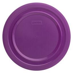 Plastic Lid 4.75-qt Round, Purple