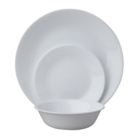 Livingware™ Winter Frost White 18-pc Dinnerware Set