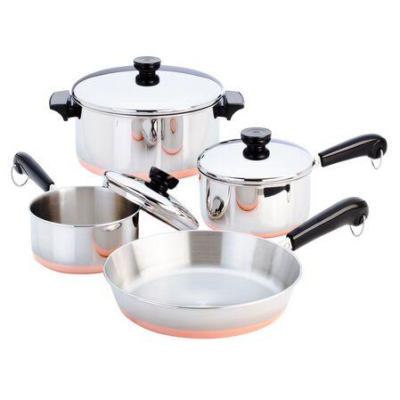 Copper Clad™ 7-pc Cookware Set