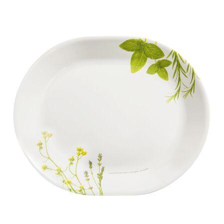 "Livingware™ European Herbs 12.5"" Serving Platter"