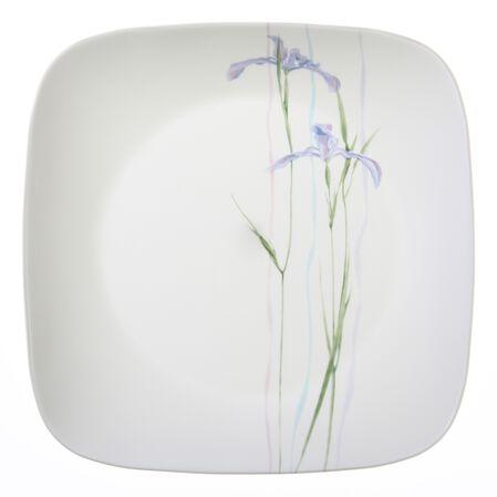 "Square™ Shadow Iris 10.5"" Plate"