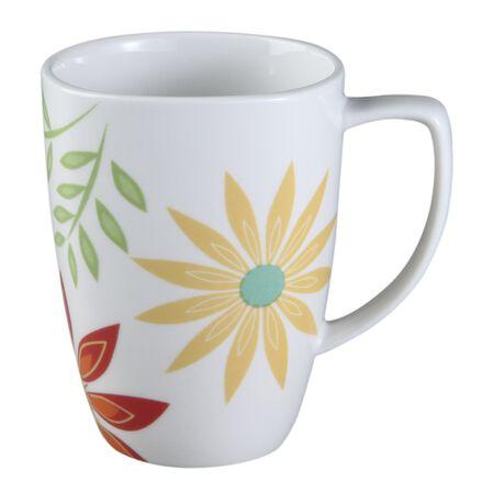 Square™ Happy Days 12-oz Porcelain Mug