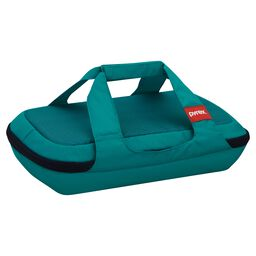 Portables® 3-qt Oblong Bag, Turquoise