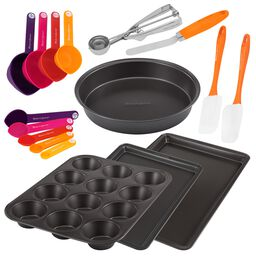 17-pc Mixed Bake & Prep Set
