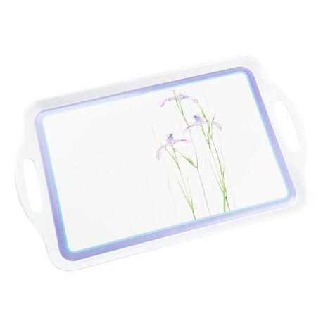Coordinates® Shadow Iris Melamine Serving Tray