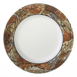 "Impressions™ Woodland Leaves 10.75"" Plate"