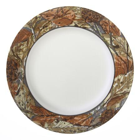 "Impressions™ Woodland Leaves 10.75"" Plate"