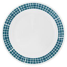 """Livingware™ Aqua Tiles 10.25"""" Plate"""