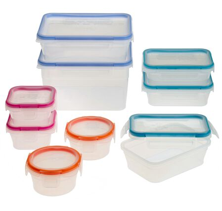 Total Solution™ Plastic Food Storage 18-pc Set